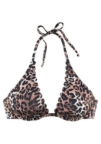 LASCANA Bügel-Bikini-Top »Lexa«, mit Muschelkante kaufen