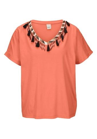 Shirt mit Schmuckapplikationen kaufen
