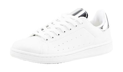 Sneaker mit Metallic - Details kaufen