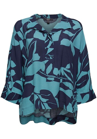 Esprit Collection Druckbluse, im Oversized Kimono-Look mit tollem Botanik-Alloverprint kaufen