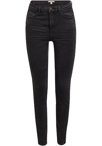 edc by Esprit 5-Pocket-Hose, mit Seitennaht am Bein für eine schmale Silhouette kaufen
