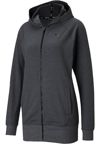 PUMA Kapuzensweatjacke »Studio Knit Jacket Plus Size«, in großen Größen kaufen