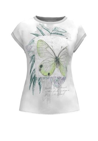 bianca Kurzarmshirt »JULIE«, mit leicht schimmerndem Effekt kaufen