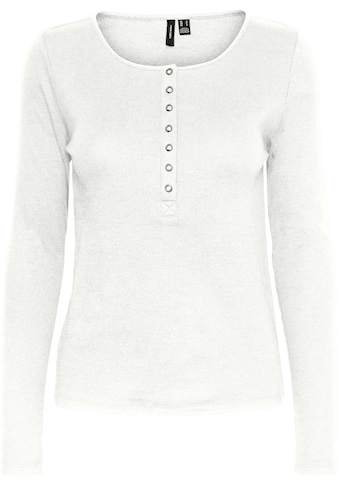Vero Moda Langarmshirt »VMNATASHA LS PLACKET TOP« kaufen