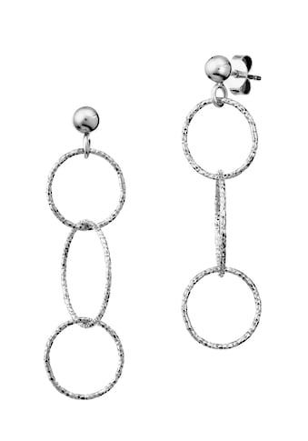 Der Kettenmacher Paar Ohrstecker »RING DESIGN, RK-OR1G, RK-OR1S« kaufen