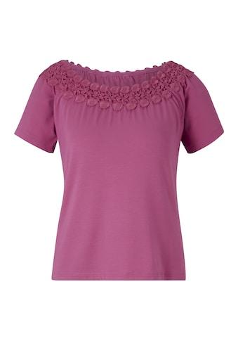 Shirt mit Carmenausschnitt kaufen