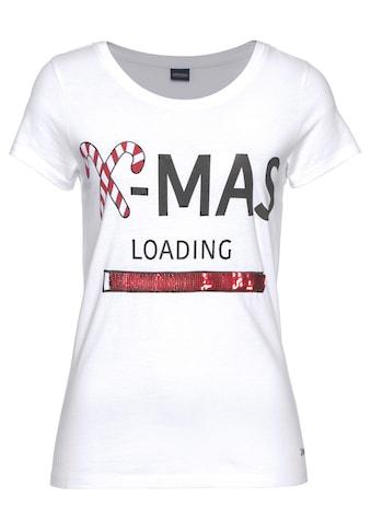 Arizona T - Shirt »glänzende Wende - Pailletten« kaufen