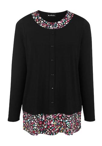 m. collection 2-in-1-Langarmshirt, in 2-in-1-Optik kaufen