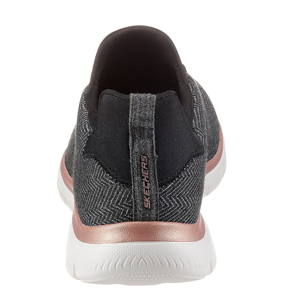 Skechers Slip-On Sneaker »SUMMITS«, mit Memory Foam