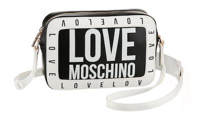 LOVE MOSCHINO Umhängetasche, im praktischem Format kaufen