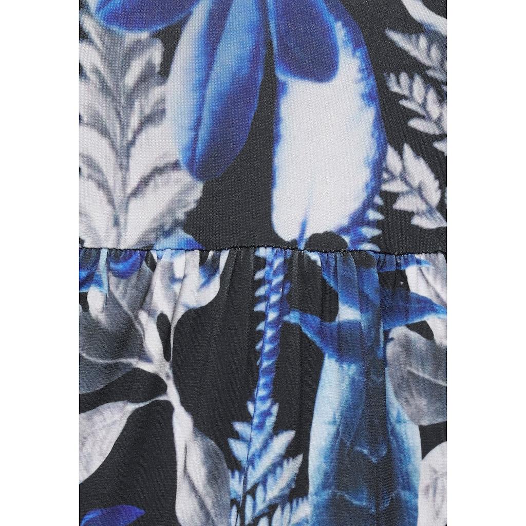 Melrose Jerseykleid, in Vokuhila Form mit Neckholder