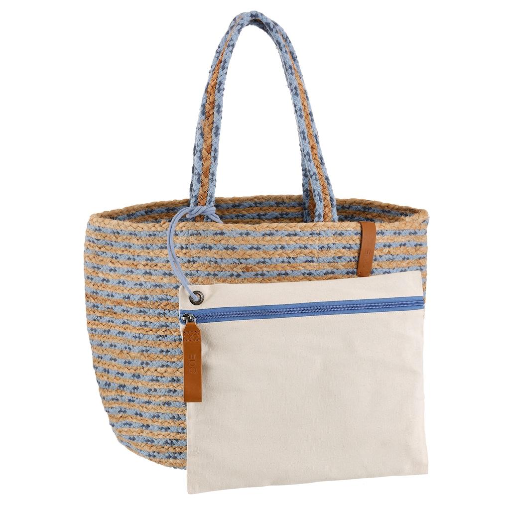 Esprit Shopper, mit herausnehmbarer Innentasche