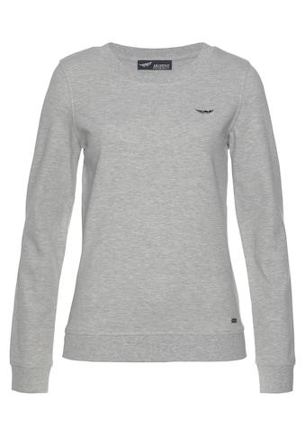 Arizona Sweatshirt, mit Logo-Stickerei kaufen