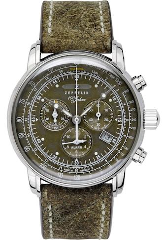 ZEPPELIN Quarzuhr »100 Jahre, Alarmchronograph, Camouflage-Edition, 8688-2« kaufen