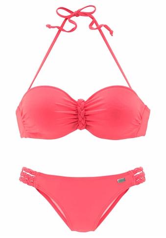 Buffalo Bügel-Bandeau-Bikini, mit Flecht-Detail kaufen