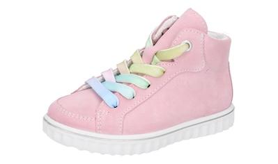 Ricosta Sneaker »Joyce mit Weiten Messsystem: mittel«, mit regenbogenfarbenen Schnürsenkeln kaufen