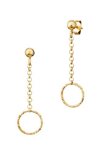 Der Kettenmacher Paar Ohrstecker »FANTASIE RING, FAR2-OR1G, FAR2-OR1S« kaufen