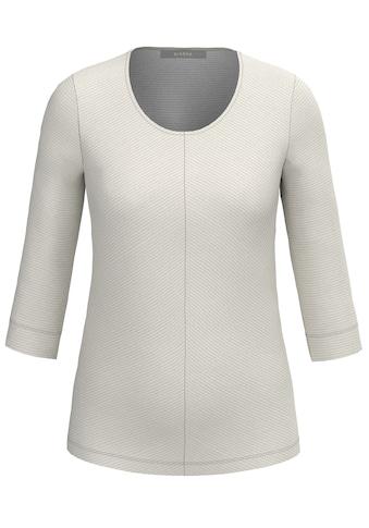 bianca 3/4-Arm-Shirt »DINI«, in trendiger Ripp-Struktur kaufen
