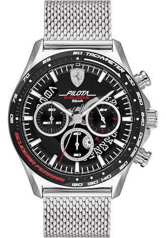 Scuderia Ferrari Chronograph »PILOTA EVO, 0830826« kaufen