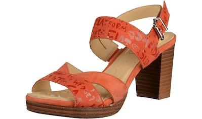 Caprice High-Heel-Sandalette »Leder« kaufen