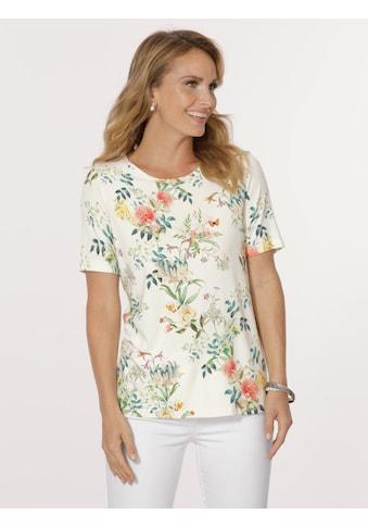 Mona Shirt mit floralem Dessin kaufen
