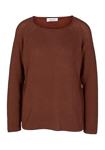 Pullover mit Waffel - Struktur kaufen