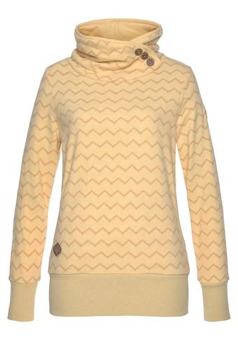 """Ragwear Sweater »ANGEL CHEVRON«, mit ausdrucksstarkem """"Zig Zag"""" Allover-Print kaufen"""