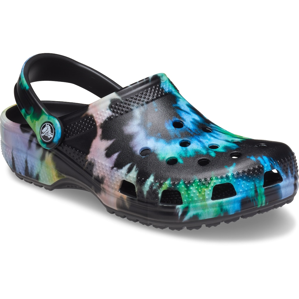 Crocs Clog »Classic Tie Dye Graphic Clog«, mit trendigem Batik-Muster