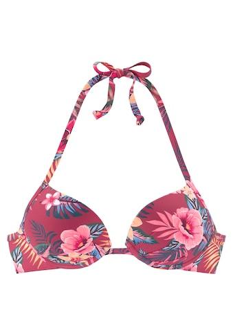 s.Oliver Push-Up-Bikini-Top »Marika«, bedruckt kaufen