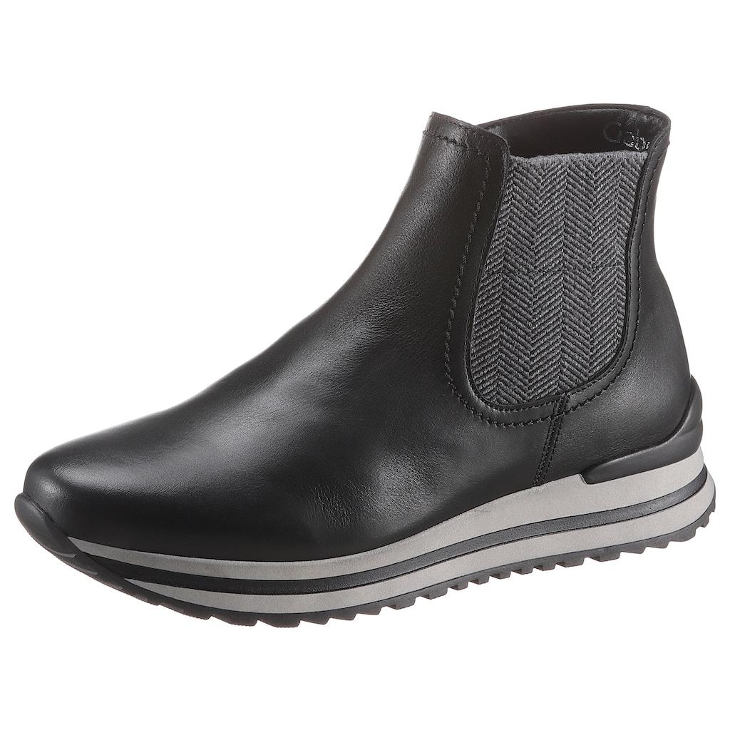 Gabor Chelseaboots »Turin«, in Schuhweite H (=sehr weit)