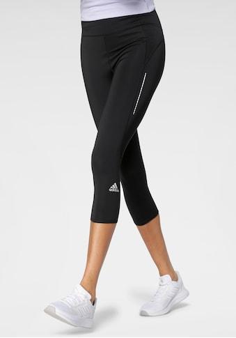 adidas Performance Lauftights »OWN THE RUN 3/4 RUNNING LEGGINGS WOMEN« kaufen