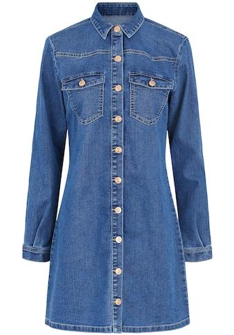 pieces Jeanskleid »PCPERRY«, mit Stretch kaufen