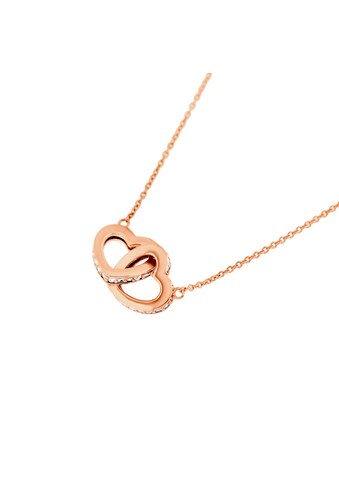 Smart Jewel Collier »Herzen verschlungen, Zirkonia Steine, glanz, Silber 925« kaufen