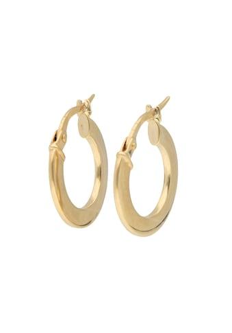 Luigi Merano Paar Creolen »glänzend, Gold 333« kaufen