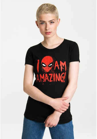 LOGOSHIRT Print T-Shirt mit lizenzierten Originaldesign kaufen