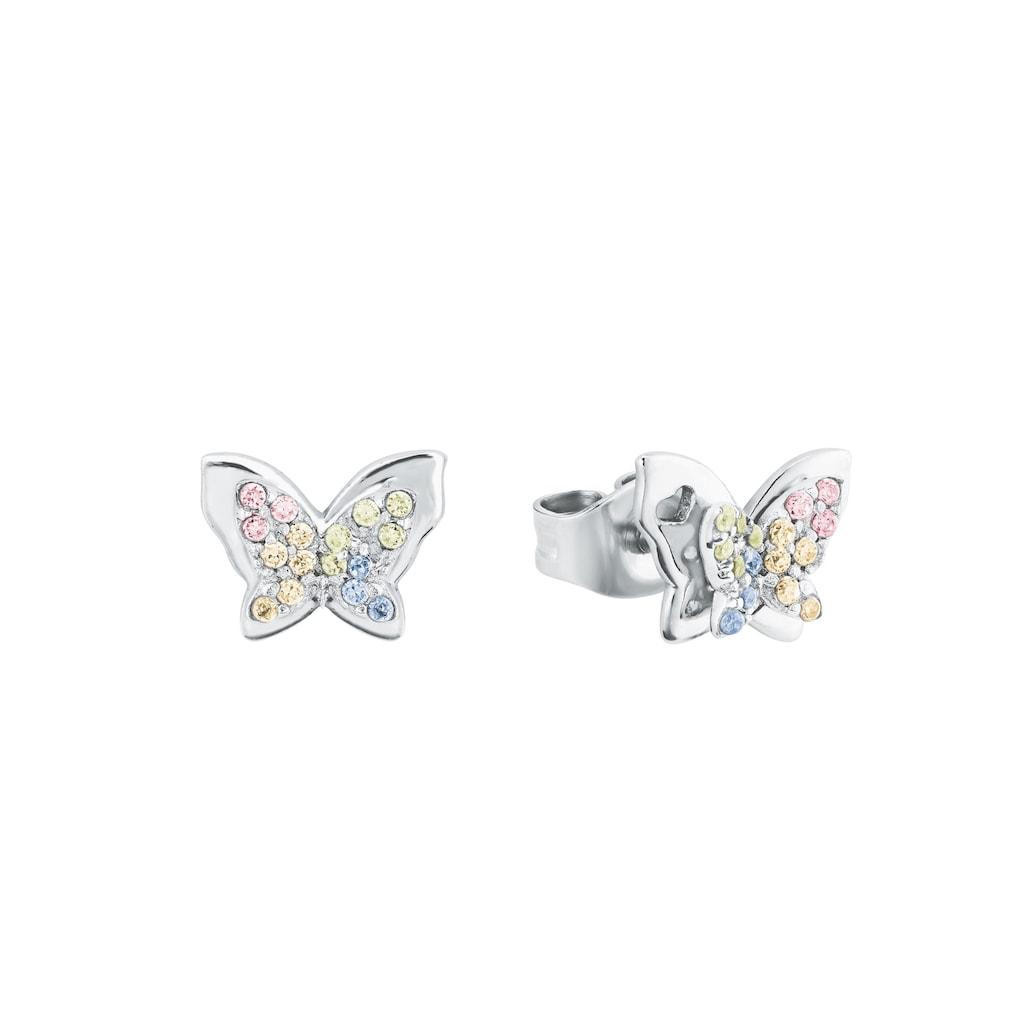 Prinzessin Lillifee Paar Ohrstecker »Schmetterlinge, 2027901«, mit Zirkonia