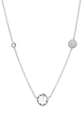 TI SENTO - Milano Collier »3907ZI/42«, mit Zirkonia, Kristall- und Glassteinen kaufen