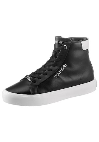 Calvin Klein Sneaker, mit kontrastfarbenem Ferseneisatz kaufen