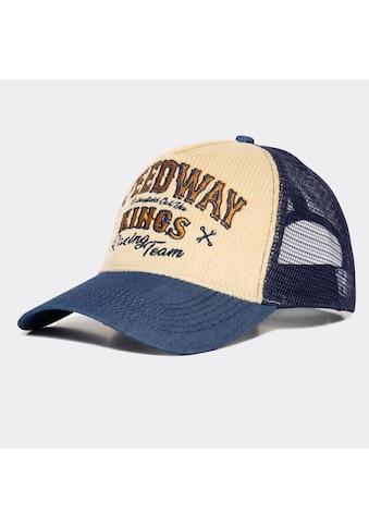 KingKerosin Trucker Cap »Speedway Kings«, aus Denim und Cord kaufen
