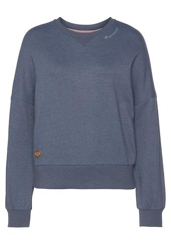 Ragwear Sweater »CROWKA«, in Melange-Optik kaufen