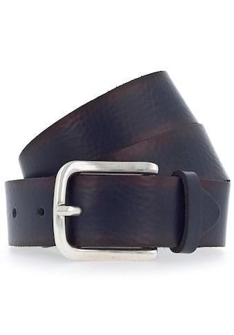 Vanzetti Ledergürtel, Weiches Leder mit leichter Narbenstruktur kaufen