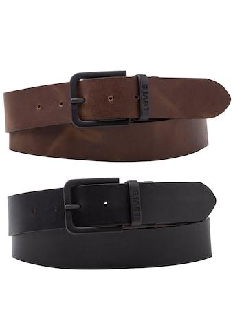 Levi's® Ledergürtel, Reversible Core Metal Belt kaufen