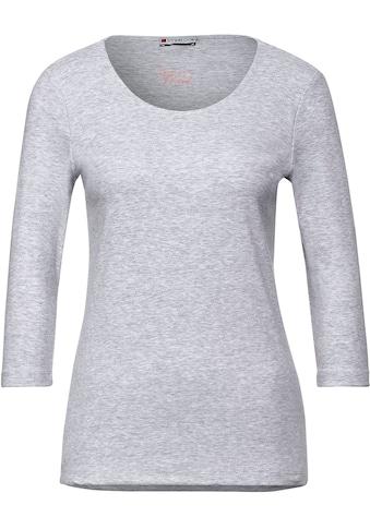 STREET ONE 3/4-Arm-Shirt »Pania«, mit Rundhalsausschnitt kaufen