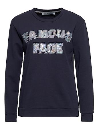 ATT Jeans Sweater, mit Pailletten-Statement kaufen