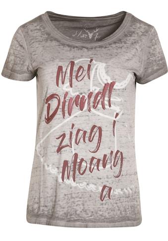 Trachtenshirt Damen im Used Look kaufen