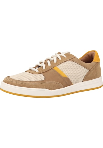 Clarks Sneaker »Veloursleder/Textil« kaufen