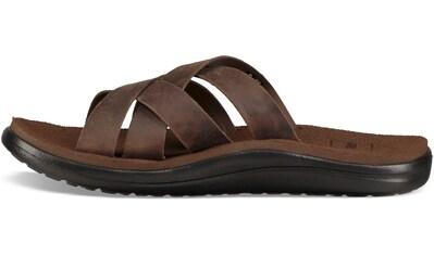 Teva Sandale »Voya Slide Leather« kaufen