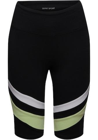 esprit sports Bikerhose, mit auffälligen Streifen kaufen