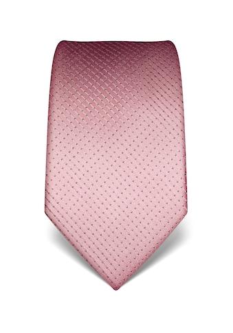 Vincenzo Boretti Krawatte aus reiner Seide kaufen
