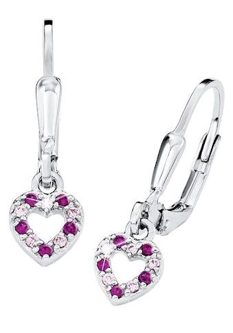 Prinzessin Lillifee Paar Ohrhänger »9082650, Herz«, mit Zirkonia kaufen